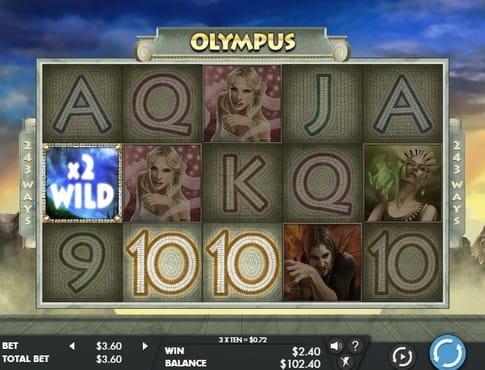 Комбинация с дики символом в автомате Olympus