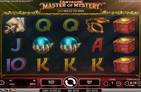 Символы игры Fantasini: Master of Mystery