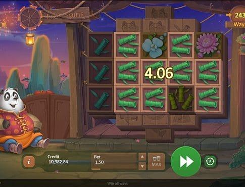 Призовая комбинация на линии в игровом автомате Fireworks Master