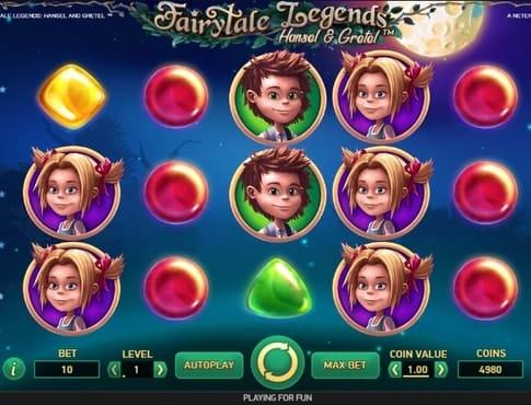 Комбинация символов в игре Hansel and Gretel