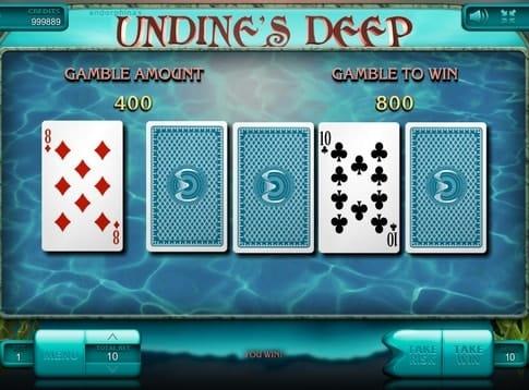 Риск игра онлайн аппарата Undine's Deep