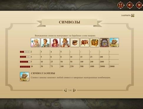 Правила игры онлайн автомата Castle Builder