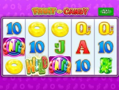 Скаттеры в онлайн автомате Fruit vs Candy