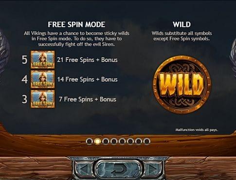 Wild и Scatter в онлайн слоте Vikings go Berzerk